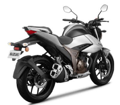 Tampak Body  Gixxer 250 cc