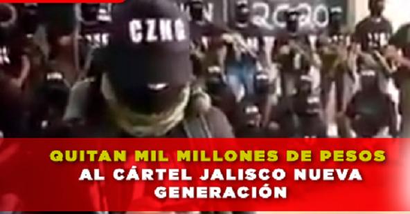 """El Mencho esta """"llorando"""" le tumban Gobierno 1,000 millones de pesos"""