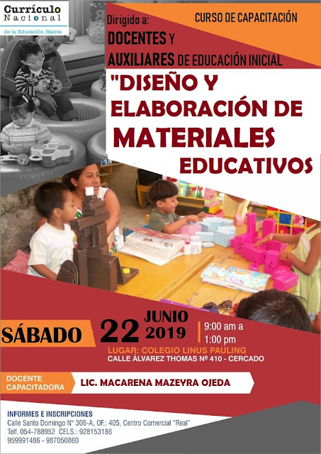 Curso de Elaboración de materiales educativos