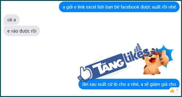 luu danh sach ban be tren facebook