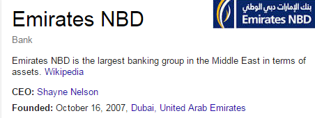 emirates nbd cutomer care service number