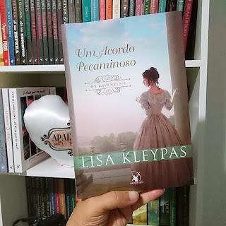 Livro acordo Pecaminoso post blog Apaixonada por Romances