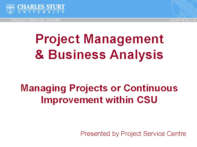 download Project Management & Business Analysis pdf
