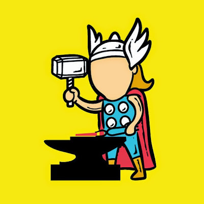 Thor es un buen herrero.