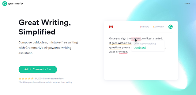 grammarly home page useful website for writers