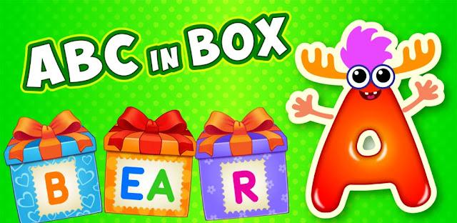 تنزيل ألعاب الأبجدية Baby ABC in box Kids للأطفال الصغار| تطبيق تعليم الأبجدية للأطفال مع الألعاب والترفيه