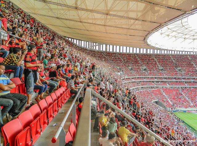 Arquibancada do Estádio Mané Garrincha, Brasília