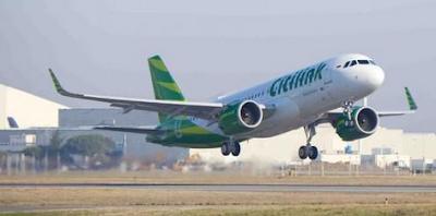Daftar Rute Penerbangan Citilink yang Ditambah Saat Mudik Lebaran 2017