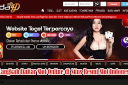 Langkah Daftar Slot Online di Situs Resmi Slot Indonesia
