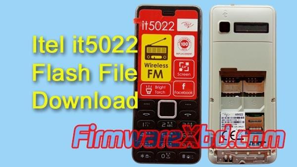 Itel it5022 Flash File Download