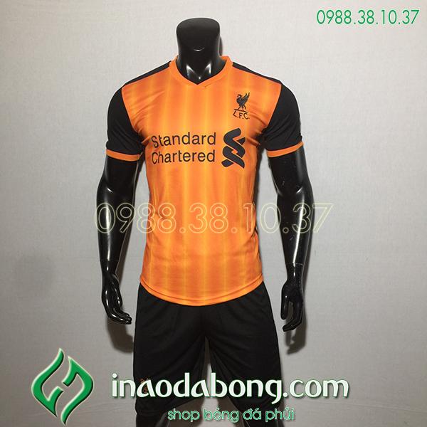 Áo bóng đá câu lạc bộ Liverpool màu cam 2020