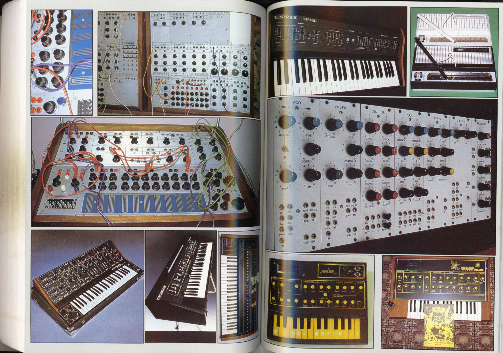 Matrixsynth Final Set Of A Z Analogue Synthesisers Clavioline Concert Model Tone Generator Schematic Wiring Diagram The First Edition Was Printed In Run 2000 And Copies This Revised Were Also Plus Few Printers Ons