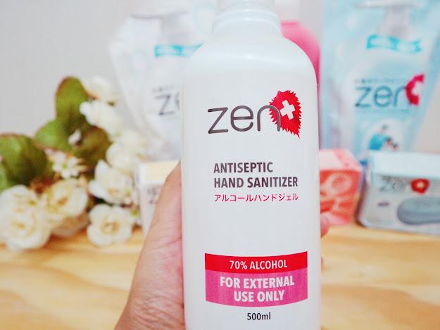 zen hand sanitizer