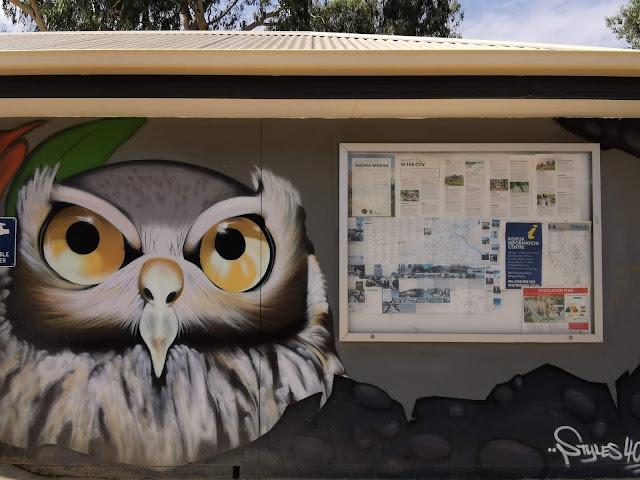 Street Art in Wagga Wagga by Styles400_