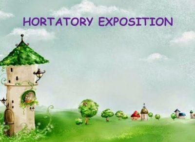 Pengertian Dan Contoh Hortatory Exposition Text Kumpulan
