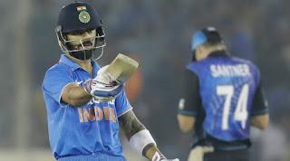 Virat Kohli 154* vs New Zealand | 26th ODI Hundred Highlights