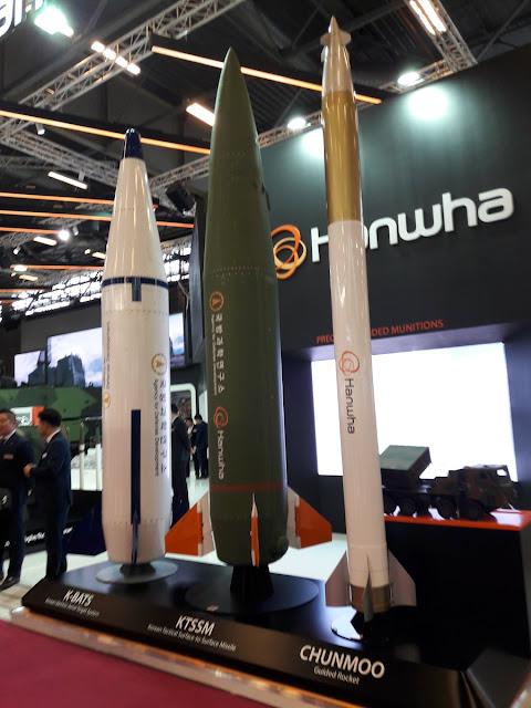 صواريخ KTSSM و K-BATS الخاصة بالراجمة CHUNMOO الكورية الجنوبية