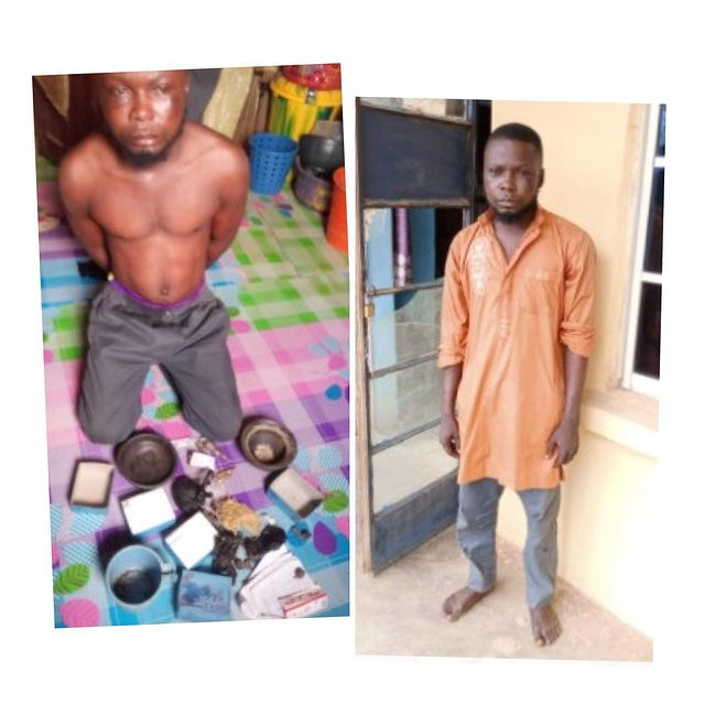 Alfa Arrested For Kidnapping 15-Year-Old Girl For Ritual In Ogun (Photos)