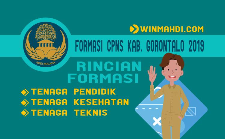 Formasi CPNS Kab. Gorontalo 2019