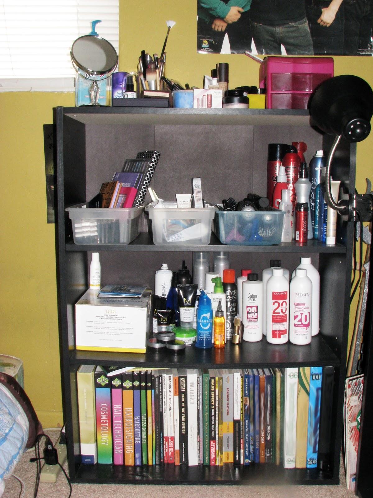 Keep It Simple Bookshelf Vanity