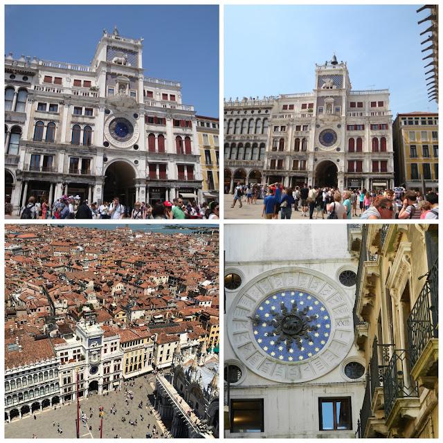Torre dell´Orologio, Piazza San Marco, Veneza