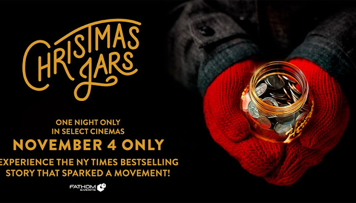 CHRISTMAS JARS Arrives in Theaters for ONE NIGHT ONLY on November 4! Get Your Tickets, Plus Enter This Giveaway for a DVD!