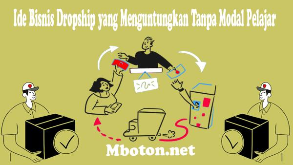 Bermodalkan internet anda bisa membuat kerja sampingan Dropship seperti reseller peraturannya