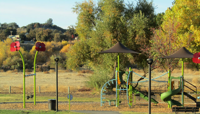 """Larry"" Moore Park in Paso Robles: A Photographic Review: New Playground"