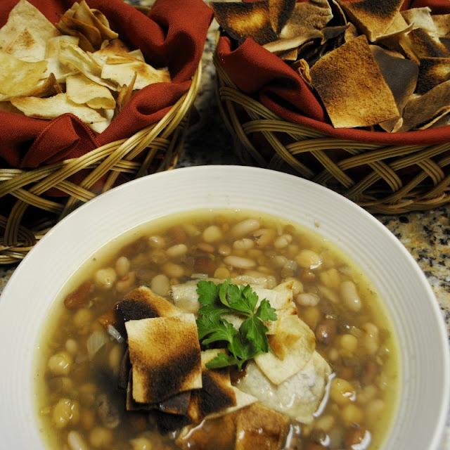 Makhlouta (Mixed Bean Soup) Recipe