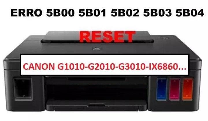 Cara Reset Canon G1010, G2010, G3010