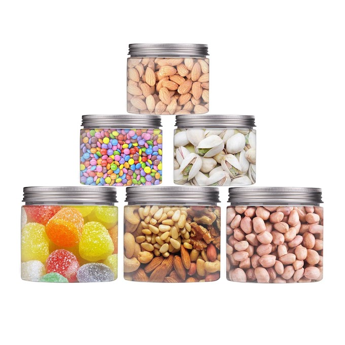 AMAZON - 30% off Clear Plastic Jars