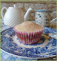 Tea Flavoured Cupcakes, made by incorporating the tea leaves into the sponge