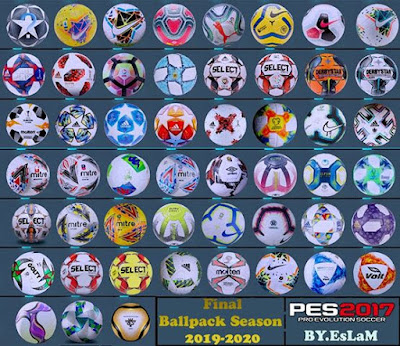 PES2017 Final Ballpack Season 2019-2020 By.EsLaM