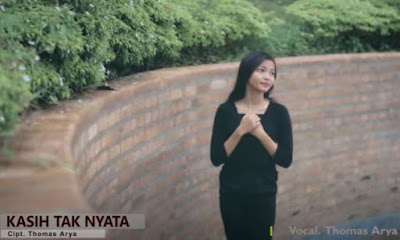 Lirik Lagu Pof Malaysia Thomas Arya - Kasih Tak Nyata