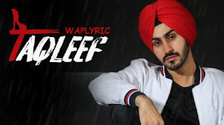 Taqleef Song Lyrics