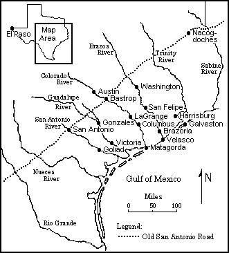 BLACKFORK: Texas, 1836.