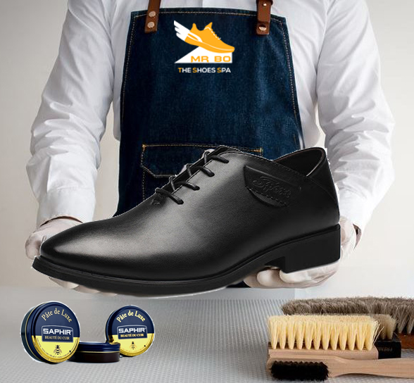 MrBo dịch vụ vệ sinh và chăm sóc giày da trơn chuyên nghiệp