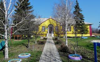 Лысовка, Покровский р-н. Центральная ул. Детский сад