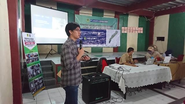IPB Latih Pemuda Desa Bantarjaya Data Presisi