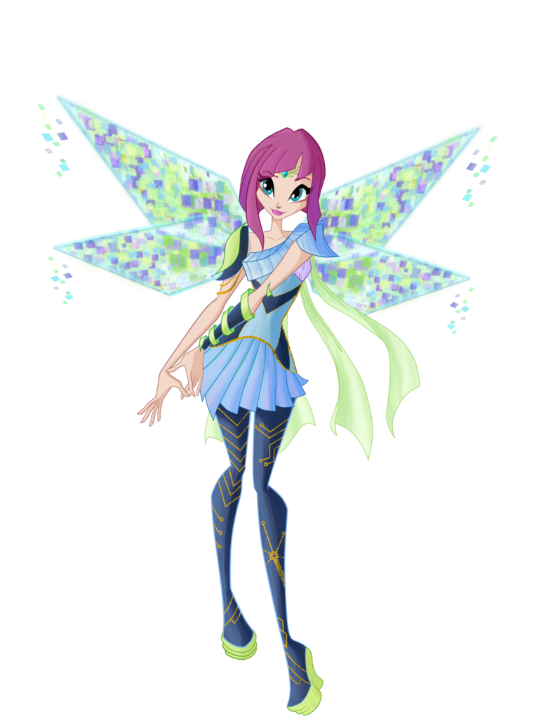 Winx Club Fairies: Tecna transformations