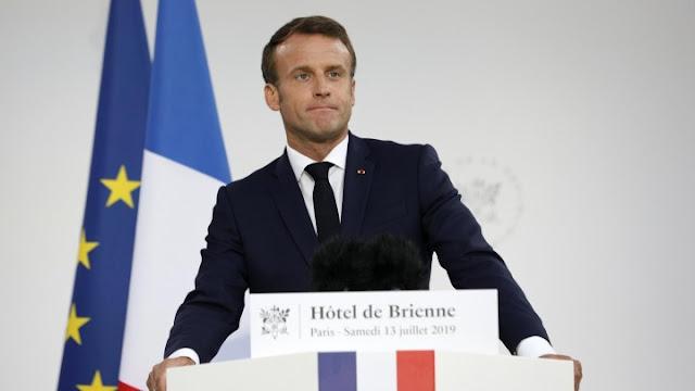 """الرئيس الفرنسي ماكرون: """"الناتو بات ميتاً"""" والسلوكيات التركية منافية لقوانين وسياسات الحلف"""