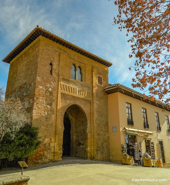 A Puerta da la Viña, na Alhambra