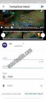 Panduan Cara Upload Video ke Youtube di Android dan Komputer 4