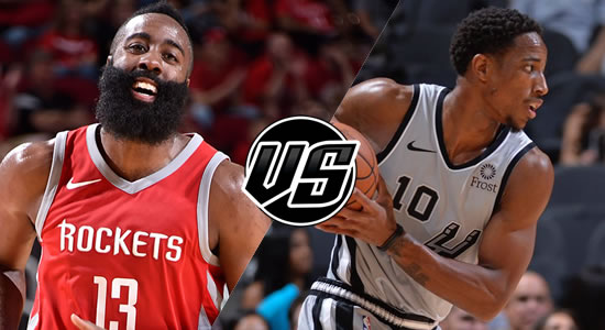 Live Streaming List: Houston Rockets vs San Antonio Spurs 2018-2019 NBA Season