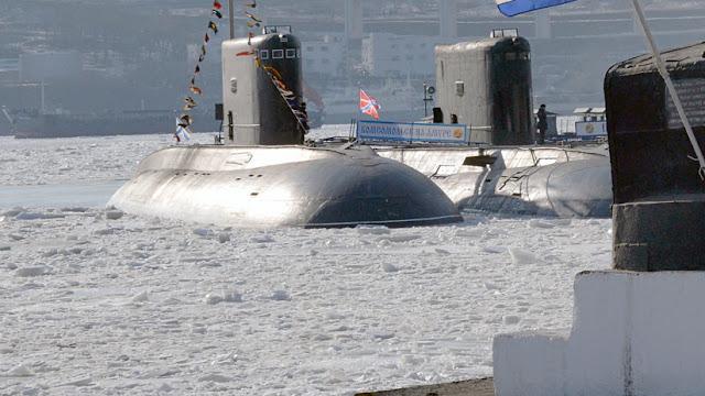 Rusia desarrolla un submarino robótico para condiciones árticas sin propulsión nuclear