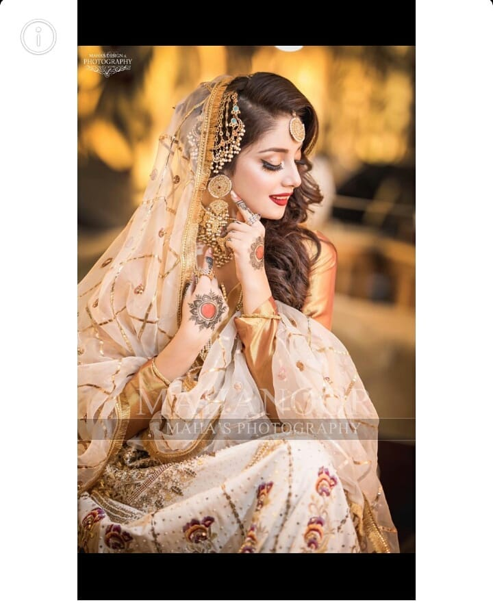 Alizeh Shah Bridal Shoot