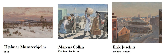 Taideblogi Helsinki (c) Hjalmar Munsterhjelm, Marcus Collin, Erik Juselius