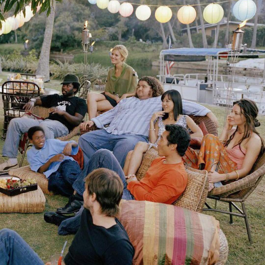 LOST cast watching LOST on the LOST location : TVシリーズ「LOST」のロケ地で、「LOST」を観ていた「LOST」の出演者たち😂
