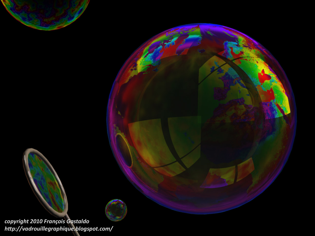 3d Bubbles Wallpaper: Email This BlogThis! Share To Twitter Share To Facebook