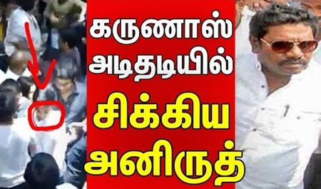 Anirudh caught at Karunas attack!